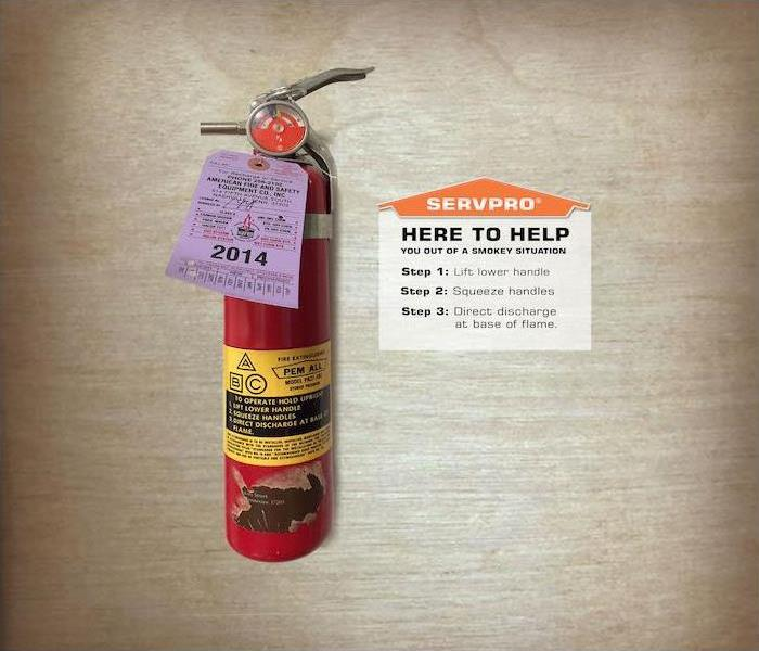 fire extinguisher in-need of replacement