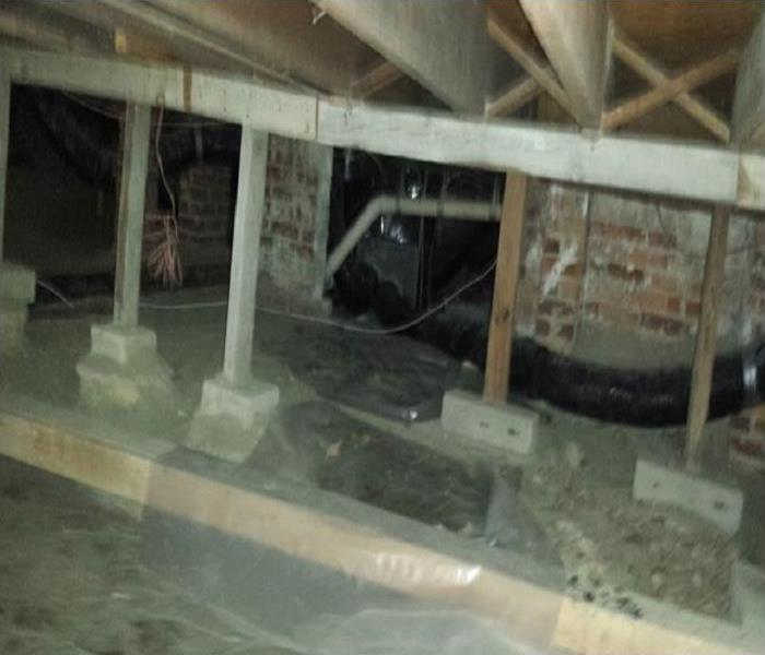 Storm Damage Crawl Space Water Damage In Your Cartersville Home