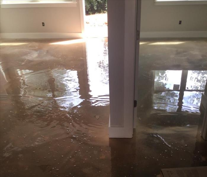"Storm Damage In a disaster, SERVPRO is ""Ready for whatever happens."""